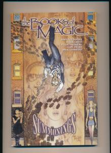 DC Comics the BOOKS of MAGIC - SUMMONINGS Graphic Novel GN (1995) ~ VF (PF166)