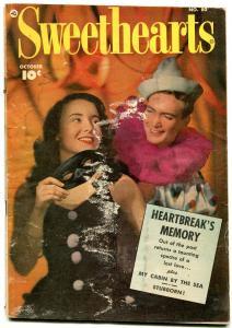 Sweethearts #80 1949- Golden Age Romance- Clown cover FAIR