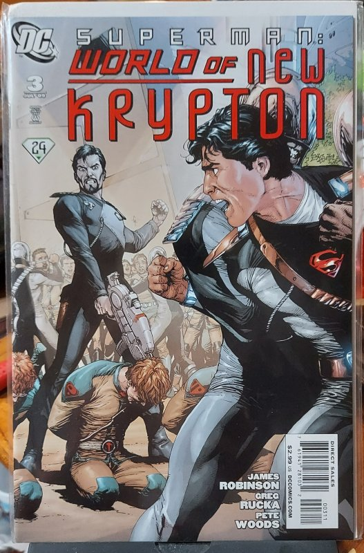 Superman: World of New Krypton #3 (2009)