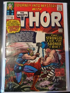 JOURNEY INTO MYSTERY NO. 114 MIGHTY THOR COMIC BOOK 1ST ABSORBING MAN