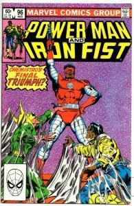 POWER MAN & IRON FIST #96 VF/NM, Luke Cage, 1974 1983, Kung-Fu Chemistro