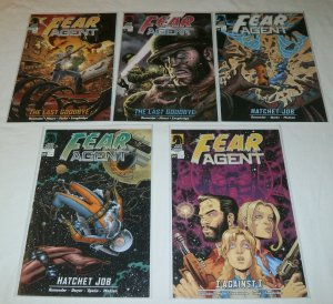 Fear Agent   #12,14,19,20,27 (set of 5) Last Goodbye, Remender