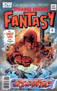 Strange Science Fantasy #4
