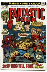 FANTASTIC FOUR #129 comic book-1972 1st THUNDRA VF
