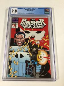 Punisher War Zone 1 Cgc 9.8 White Pages Marvel