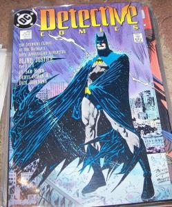 DETECTIVE COMICS  # 600 BATMAN  1989  blind justice pt 3 dc 50th anniversary iss