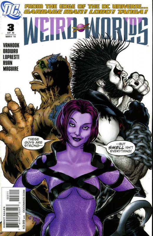 Weird Worlds (2nd Series) #3 FN; DC | save on shipping - details inside