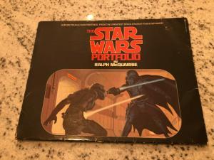 The Star Wars Portfolio By Ralph McQuarrie 1977 Print Set Production Paint JF30