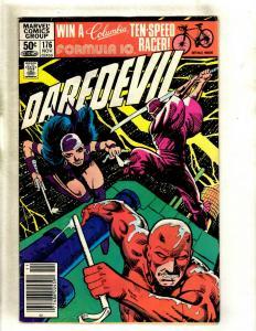 Daredevil # 176 VG Marvel Comic Book Frank Miller Elektra Bullseye Hand HY1