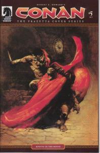 Conan The Frazetta Cover Series #5 VF/NM; Dark Horse | save on shipping - detail