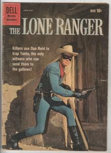 Lone Ranger, The #133 (Apr-60) VG+ Affordable-Grade The Lone Ranger, Tonto, S...