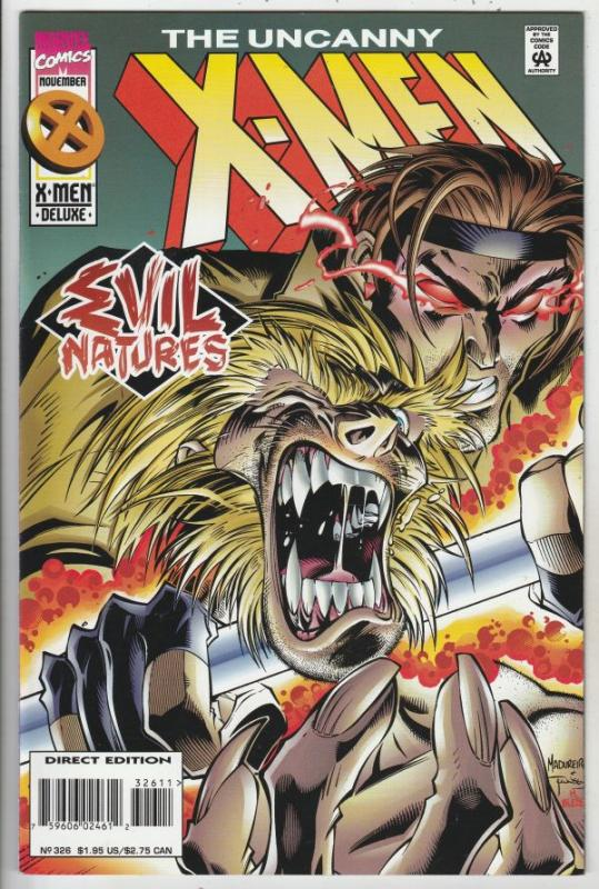 X-Men #326 (Nov-95) NM+ Super-High-Grade X-Men
