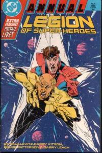 Legion of Super-Heroes (1984 series) Annual #4, NM (Stock photo)
