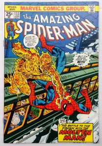 The Amazing Spider-Man #133 (VF+)(1974)