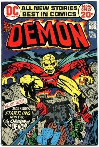Demon 1 Sep 1972 VF-NM (9.0)