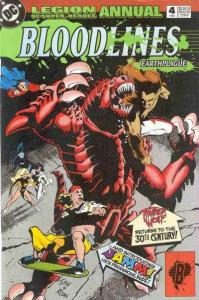 Legion of Super-Heroes (1989 series) Annual #4, VF+ (Stock photo)