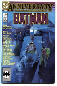 BATMAN #400-ANNIVERSARY ISSUE 1986-Stephen King
