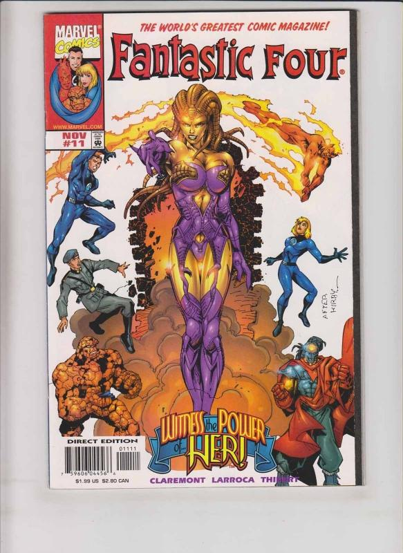Fantastic Four #11 VF/NM first appearance of ayesha (guardians of the galaxy 2)