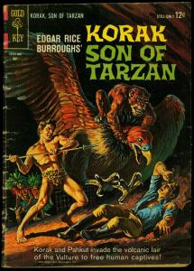 Korak Son of Tarzan #3 1964- Gold Key Silver Age- VG