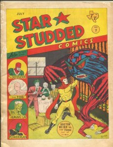 Star Studded Comics #7 1965-Texas Trio-2nd published story by George R.R. Mar...