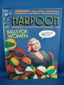 HARPOON 1 VF FIRST ISSUE NATIONAL LAMPOON LIKE ADAMS STARLIN BRODERICK 1974