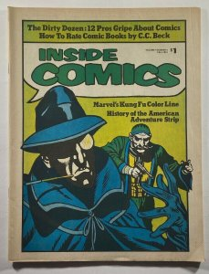 Inside Comics #3 Fanzine 1974 Jim Steranko Neal Adams