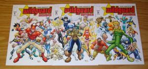 Wildguard Insider #1-3 VF/NM complete series - todd nauck - image comics set 2