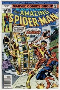 Amazing SPIDER-MAN #183, VF+, Big Wheel, Marv Wolfman, 1963, Ross Andru