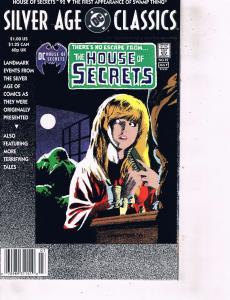 Lot Of 2 Comic Books DC Silver Age Classics #92 and Hellblazer #40 Batman  MS12