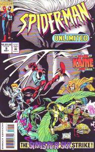 Spider-Man Unlimited #9 (May-94) NM/NM- High-Grade Spider-Man