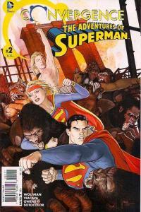 Convergence Adventures of Superman #2, NM (Stock photo)