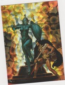 1994 Comic Images All Chromium Conan II Prism Card #P3