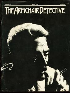 ARMCHAIR DETECTIVE V.14 #1-1981-FANZINE-GERNSBACK FN