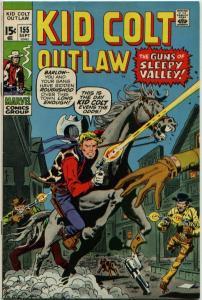 Kid Colt Outlaw #155 (1971) VF- 7.5