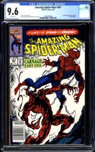 Amazing Spider-Man #361 Giveaway