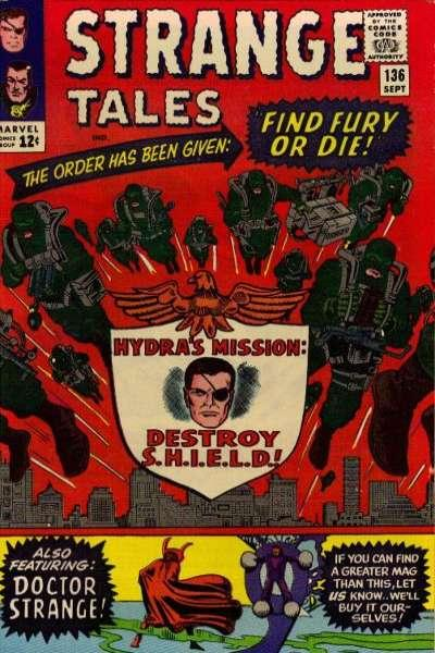 Strange Tales (1951 series) #136, VG (Stock photo)