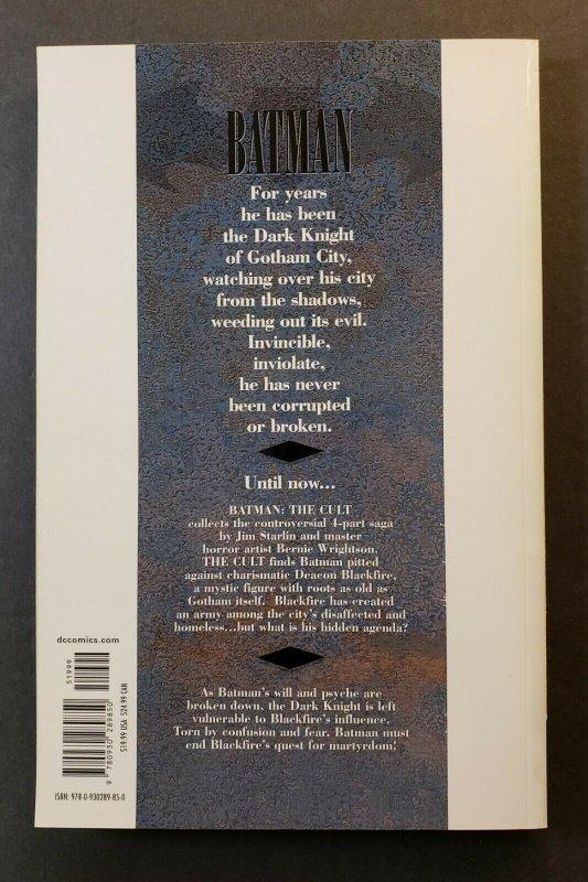 BATMAN: THE CULT TPB SOFT COVER DC COMICS FIFTH PRINTING RARE H.T.F. VF/NM