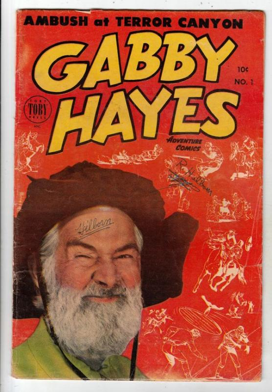 Gabby Hayes Adventure Comics #1 (Dec-53) VG Affordable-Grade Gabby Hayes
