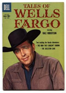 Four Color Comics #1023  Tales of Wells Fargo TV Photo cover VF