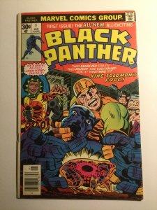 Black Panther 1 Fine fn 6.0 Marvel