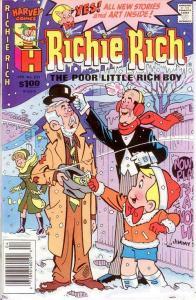 RICHIE RICH  (1960-1991) 233 VF-NM  April 1988 COMICS BOOK