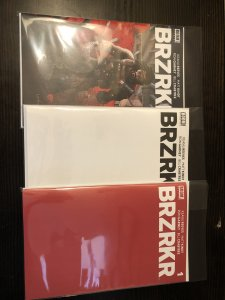 BRZKR #1 + BLANK VARIANT & RED VARIANT NM NEW!
