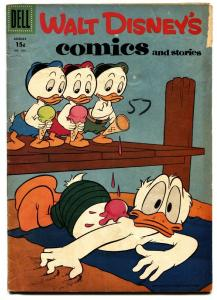 WALT DISNEY'S COMICS & STORIES #203 DONALD DUCK  BARKS VG-