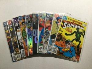 Superman 53 Issue Lot 0 1 2 78 82 100 166-178 +More Vf/Nm 9.0 Dc Comics