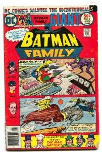 BATMAN FAMILY #6-JOKER'S DAUGHTER COVER-BATGIRL-1976-DC