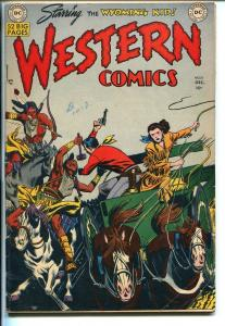 WESTERN #18 1950-DC-WYOMING KID-NIGHT HAWK-RODEO RICK-COWBOY MARSHAL-vg+