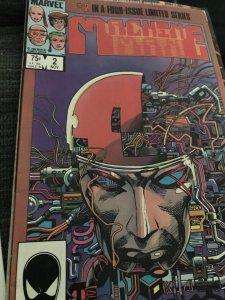 Marvel Machine Man #2 Limited Series NM Rare