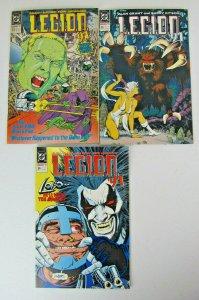 Lot of 3 Legion 1991 DC Comics Copper Age VG/FN #23, 24, 25 Lobo