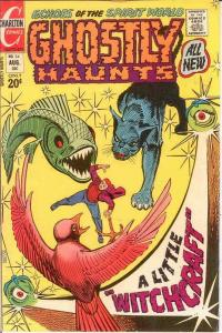 GHOSTLY HAUNTS (1971-1978) 34 VF Ditko cover and art COMICS BOOK