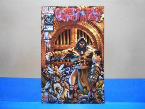 CREMATOR #4, NM, Hell's Guardian, Chaos, 1998, 1999, more horror in store
